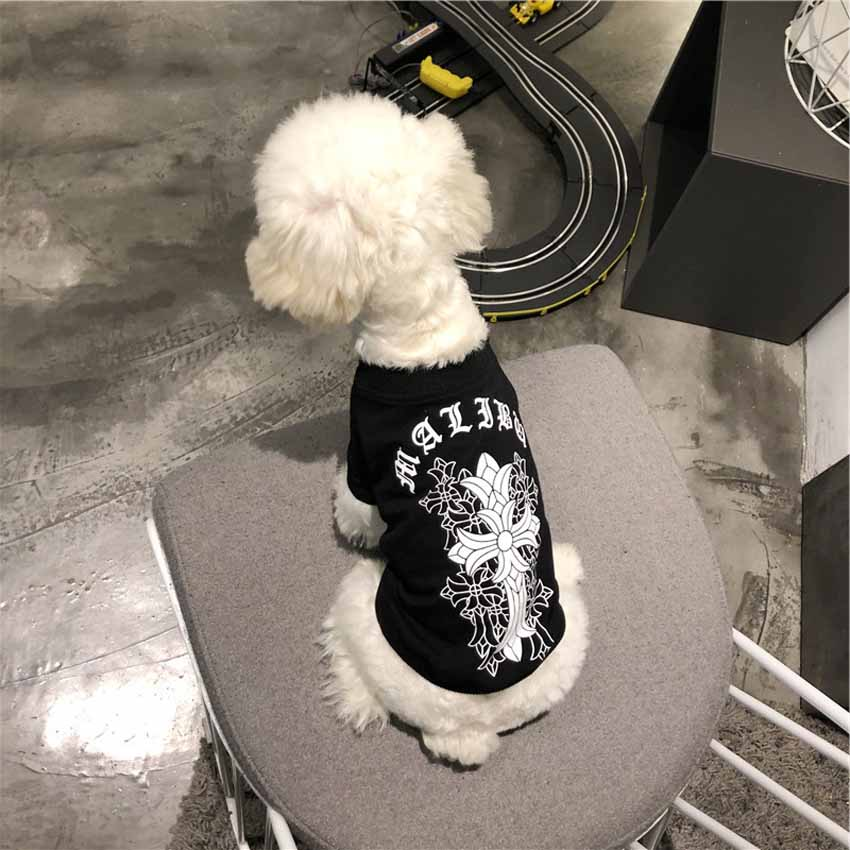 クロムハーツ 犬服 tシャツ