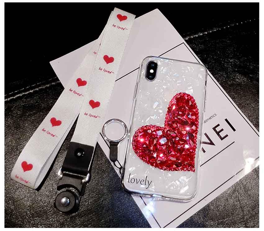 可愛い iphonexr ハートケース