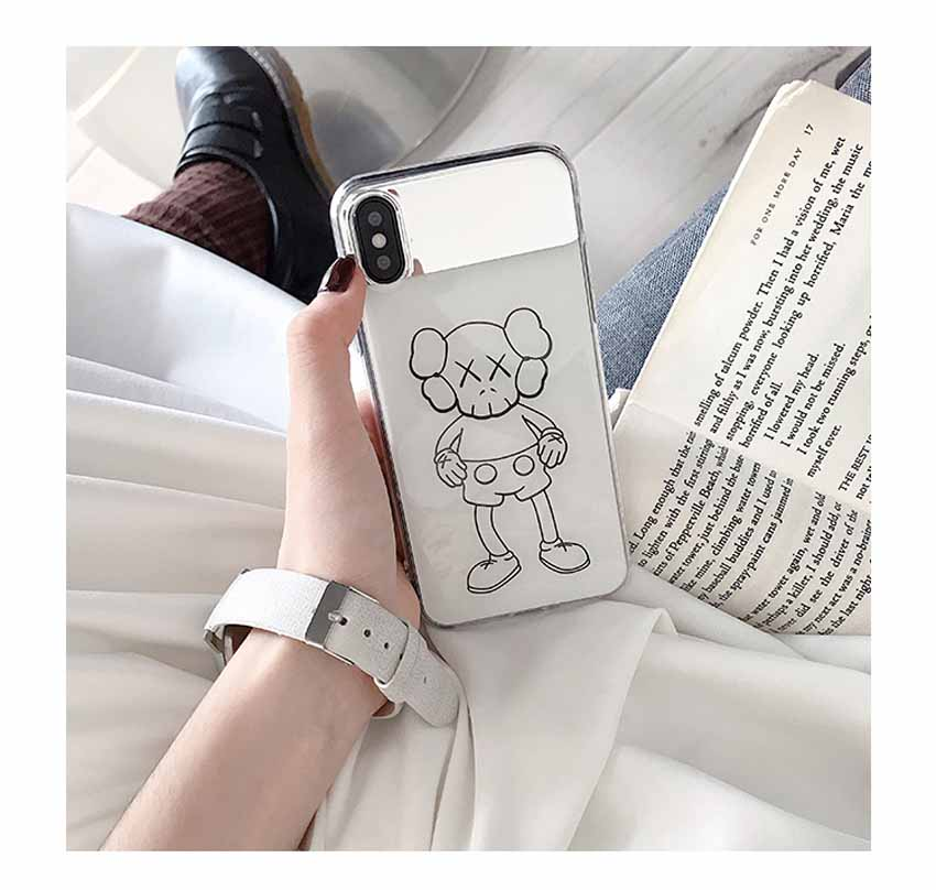 KAWS IPHONE XRカバー ミラー