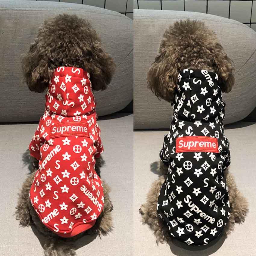 シュプリーム犬服 大型犬 フードパーカー