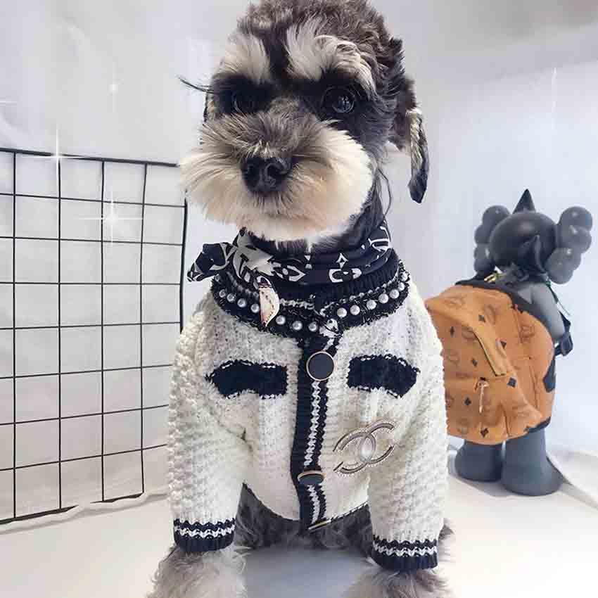 小香風 ペット服 ニットセーター