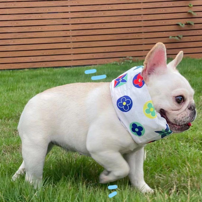 ルイヴィトン 犬用クールバンダナ 冷感首輪