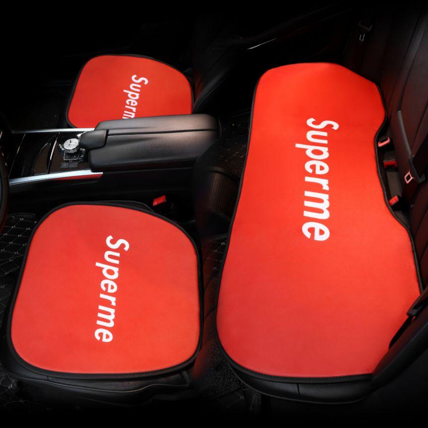 シュプリーム 前座席用シート+後部座席用シート 3点セット
