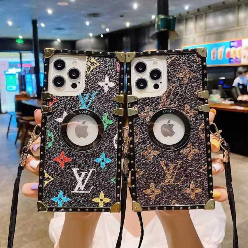 LV トランク型 iphone12proケース